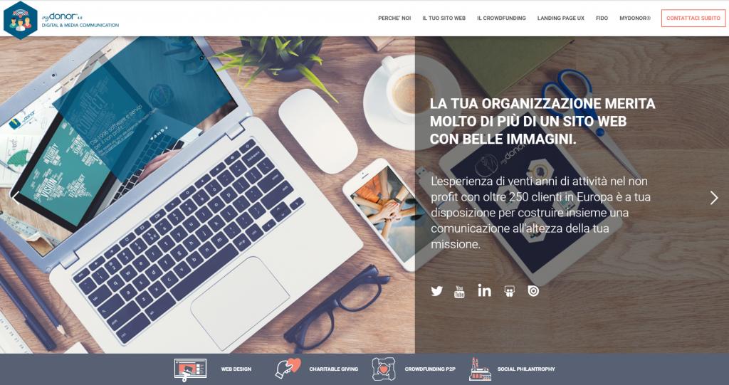 il digital fundraising myDonor®